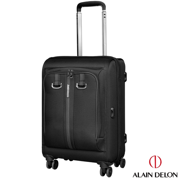 ALAIN DELON 亞蘭德倫 20吋旅者風範系列登機箱(黑)