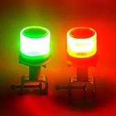 警示燈 船用LED太陽能航標燈行船航行信號燈定位燈長亮常亮閃光障礙燈