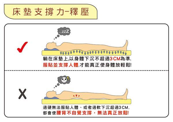 【嘉新名床】浮力床《加硬款/10公分/雙人加大6尺》