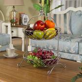 水果盤雙層水果盆兩層