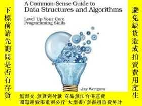 二手書博民逛書店A罕見Common-sense Guide To Data Structures And Algorithms