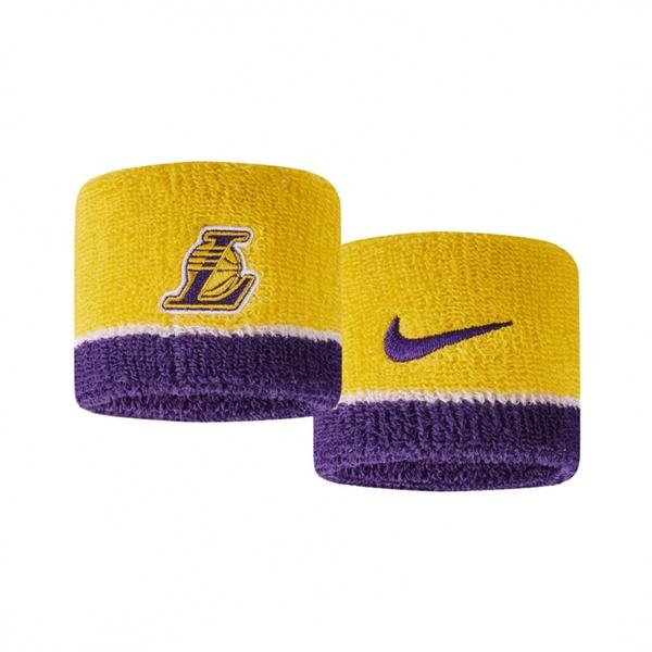 Nike NBA Swoohs [N1000536747OS] 腕帶 護腕 運動 打球 健身 吸濕 排汗 乾爽 湖人
