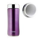 SMF雙層真空骨瓷保溫杯 350ml (羅蘭紫) 鋅時代款 #B2335Z