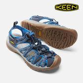 KEEN 女款 織帶涼鞋Whisper 1016576 / 城市綠洲 (水陸兩用、輕量、戶外休閒鞋、運動涼鞋)
