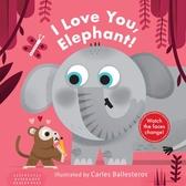 Little Faces:I Love You,Elephant! 我愛大象變臉操作書