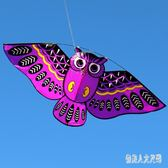濰坊風箏鳥類風箏貓頭鷹風箏兒童風箏顏色艷麗微風易飛 DJ12063『俏美人大尺碼』