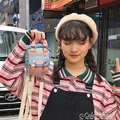 迷你小包包女新款韓版單肩斜背包學生可愛少女百搭防水雙肩包 快速出貨