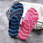 夏季室內情侶防滑時尚潮拖外穿室外大碼拖鞋