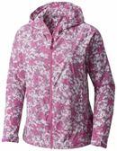 【Columbia】女款連帽風衣-紫色花紋RR30710(UN)