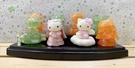 【震撼精品百貨】Hello Kitty 凱蒂貓~三麗鷗 KITTY 限定版造型積木/擺飾組合(8入附整理盒)#97326