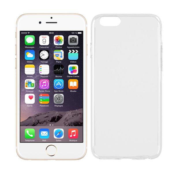極簡派 Apple iPhone 6/6S Plus 透明保護殼(送保貼)