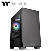 【TT thermaltake 曜越】S100 TG 小型強化玻璃機殼 黑色
