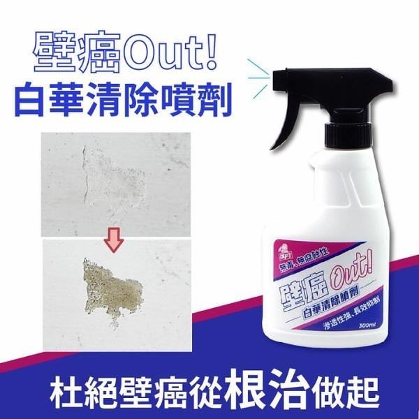 【南紡購物中心】【DIY小助手】壁殺劑 壁癌out 白華清除噴劑