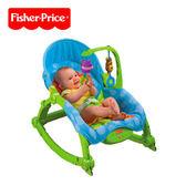 【狂降】Fisher-Price 費雪 可愛動物可攜式兩用安撫躺椅(公司貨)【佳兒園婦幼館】