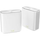 【免運費】ASUS 華碩 ZenWIFI XD6 白 (兩件組) AX5400 Wi-Fi 6 Mesh 系統 網狀網絡 路由器