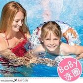 冰雪奇緣圖案印花兒童泳圈 浮板