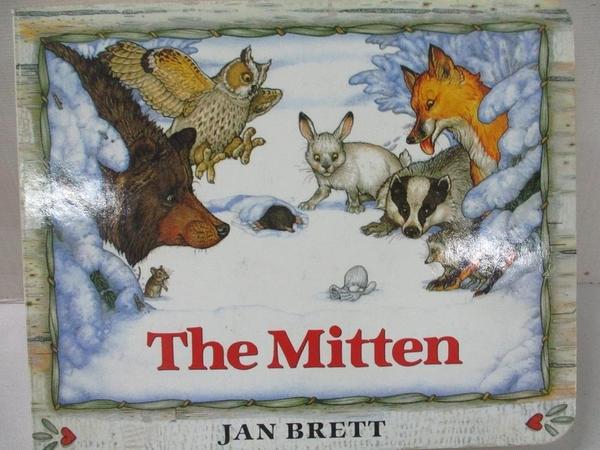 【書寶二手書T9/原文小說_B9Q】The Mitten: A Ukrainian Folktale_Brett, Jan