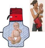 新生嬰兒換尿布臺 寶寶外出更換尿布墊子收納包袋 可折疊防水便攜  IGO