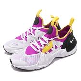 Nike 武士鞋 Huarache E.D.G.E. TXT QS 白 紫 全新系列 男鞋 運動鞋【ACS】 BQ5206-500