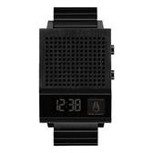 NIXON 科技潮流方型電子腕錶-黑