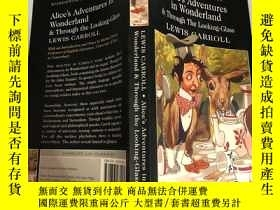 二手書博民逛書店Alice s罕見adventures in wonderland 愛麗絲夢遊仙境記 .Y200392