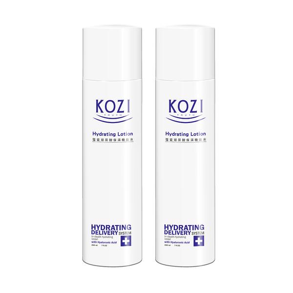 KOZI蔻姿 玻尿酸保濕機能水(200ml)x2