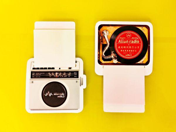 Alian 好朋友復古造型 便利貼 (2入組)