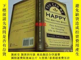 二手書博民逛書店YOU罕見CAN BE HAPPY NO MATTER WHAT【大32開】Y6993 RICHARD CAR