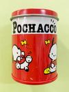 【震撼精品百貨】Pochacco 帕帢狗~三麗鷗帕帢狗~迷你罐貼紙~紅*59900