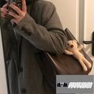 時尚休閒百搭單肩包斜挎包托特包女大容量包包【邦邦男裝】