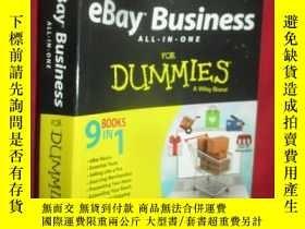 二手書博民逛書店Ebay罕見Business All-In-One for Du