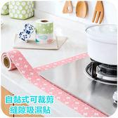 自黏式可裁剪縫隙吸濕貼 250cm 印花 廚房 廁浴 除臭 吸濕貼