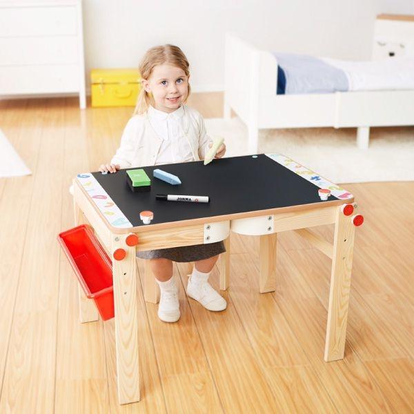 【輸入折扣碼RE200折200 加碼贈小獅椅】芬蘭 Top Bright 二合一畫板書桌