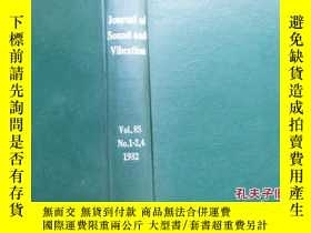 二手書博民逛書店Journal罕見of Sound and Vibration