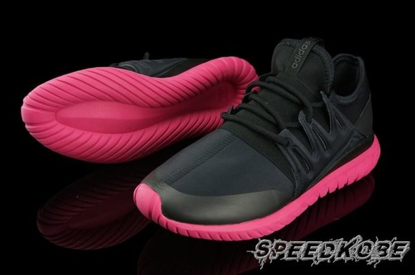海外限定Adidas Originals Tubular Radial 全黑 黑桃 男 S75393 ☆SP☆