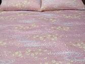 碧多妮寢飾-搖曳生花-60支紗精梳綿-標準5*6.2薄床包組