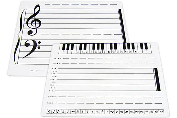 【小叮噹的店】台製 B5002 音符磁性白板 音樂教學 白板