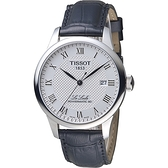 TISSOT Le Locle 力洛克自動80小時動力儲存機械腕錶 T0064071603300