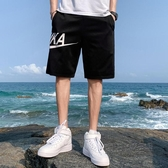 夏季短褲男褲子外穿工裝休閒男士五分褲百搭沙灘運動韓版潮流寬鬆 中秋節