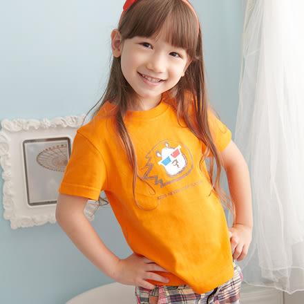 SHIBUDI3D眼鏡獅系列短袖上衣親子裝MIT(小孩)