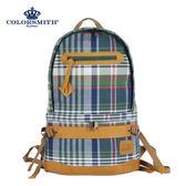 【COLORSMITH】LPC・格紋後背包-經典綠格紋・LPC1323-CH