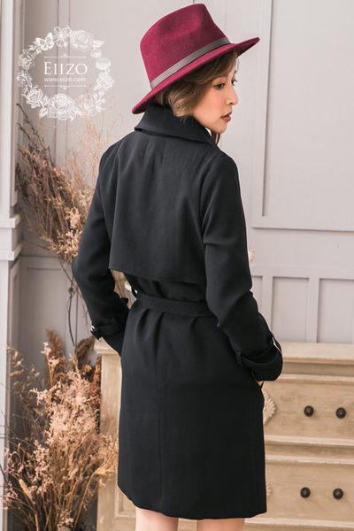 【EIIZO】率性挺版厚棉風衣外套(卡其)