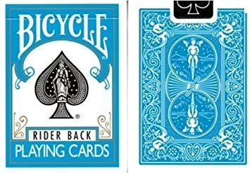 【USPCC 撲克】Bicycle-Poker deck-2014(水藍)Turquoise back