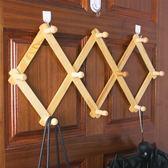 門後墻壁木質掛鉤衣帽鉤
