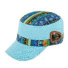 民族風遮陽帽 1500015 天空藍 防曬 遮陽 戶外休閒