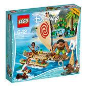 樂高積木LEGO 迪士尼公主系列 海洋奇緣 41150 莫娜的海上之旅