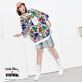 STAYREAL x Keith Haring 凱斯哈林塗鴉寬版T