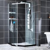 花灑套裝 沐鳥浴室智慧恒溫淋浴屏花灑套裝全銅龍頭淋浴器浴室簡約淋浴花灑 JD 下標免運