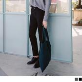 《BA3721-》加厚雙層質感西裝直筒褲 OB嚴選