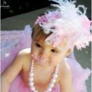髮帶 歐單娃娃造型髮帶 甜美女娃兒必備 拍照 橘魔法 magic baby 現貨 髮帶 花童 禮服